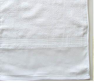 平地印刷シリンダータオル(白)