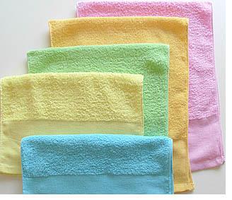 界付平地印刷オリジナルタオル(カラー)