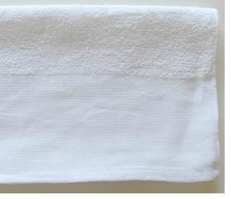 平地印刷オリジナルタオル(白)